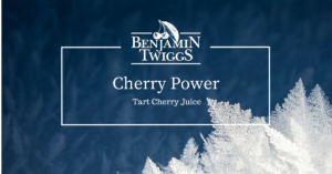 Cherry power - tart cherry juice | featured image