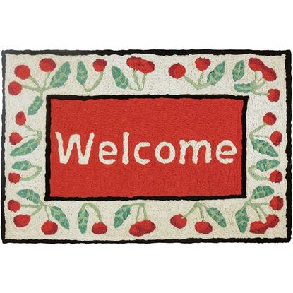 Cherry Welcome Rug