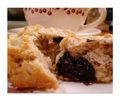 Cherry Almond Scone Recipe