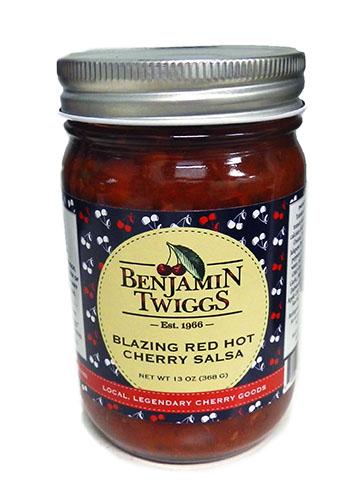 Blazing Red Hot Cherry Salsa