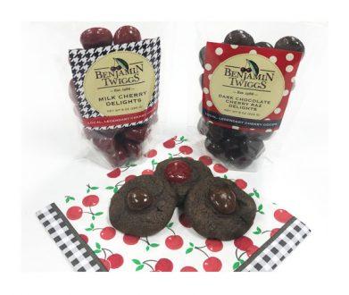 Double Dark Chocolate Chip Cherry Razz Cookie